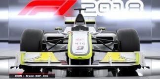 ANNUNCIATA LA BRAWN DEL 2009 IN F1 2018