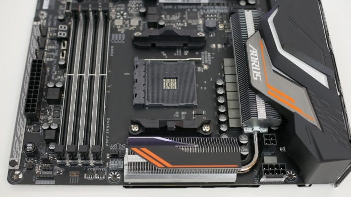 Gigabyte X470 Aorus Gaming 7 WiFi – Recensione 9 696x392 - Gigabyte X470 Aorus Gaming 7 WiFi - Recensione