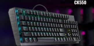 Disponibile la nuova tastiera meccanica RGB Cooler Master CK550