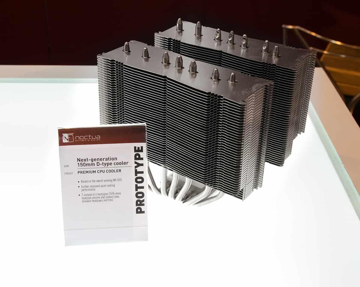 noctua next gen 150mm d type cooler 1 - Noctua rilascerà dei dissipatori completamente neri