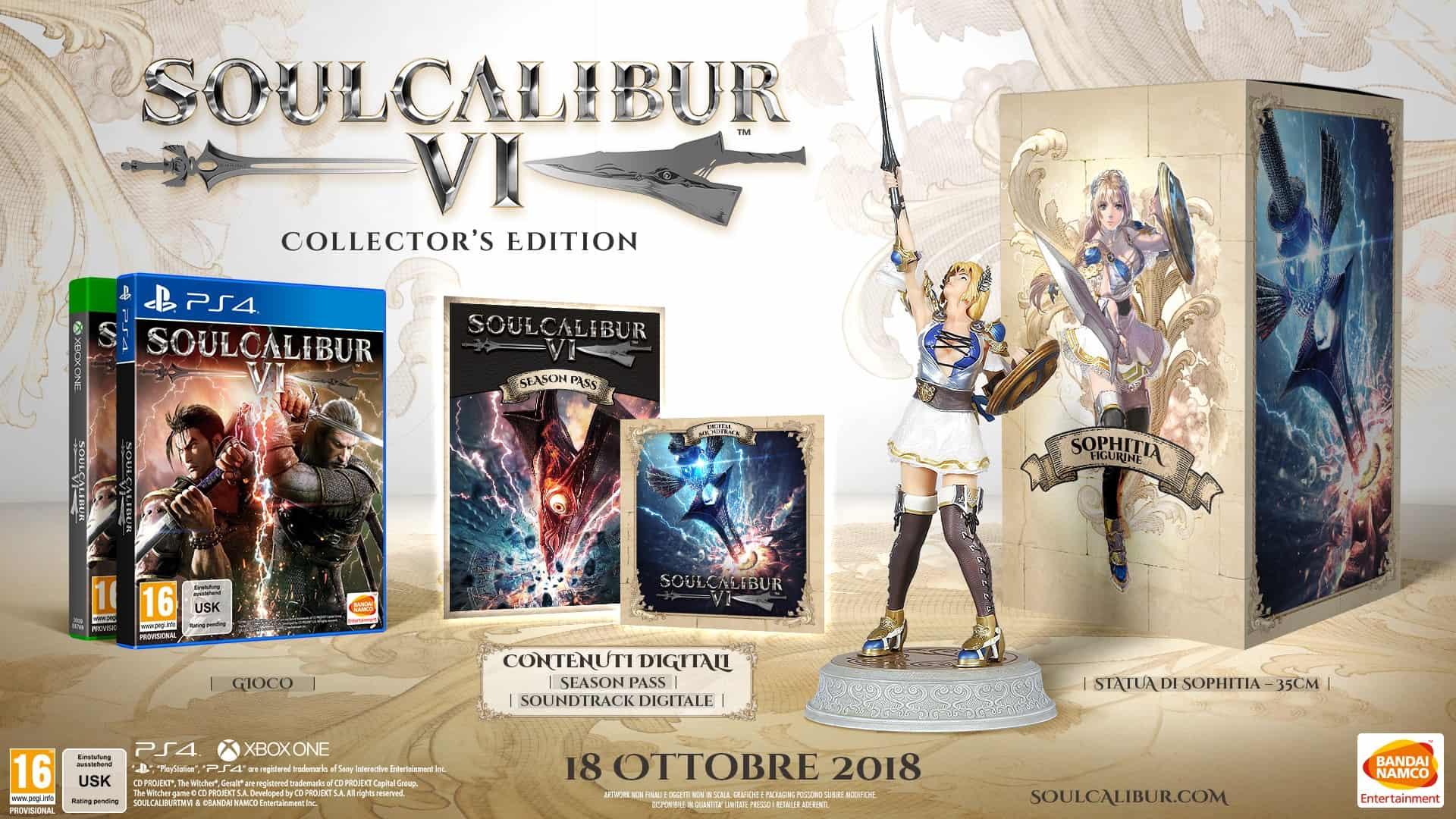 soulcalibur vi collectors - SOULCALIBUR VI: DATA DI USCITA E PRIMO GAMEPLAY 4K PC