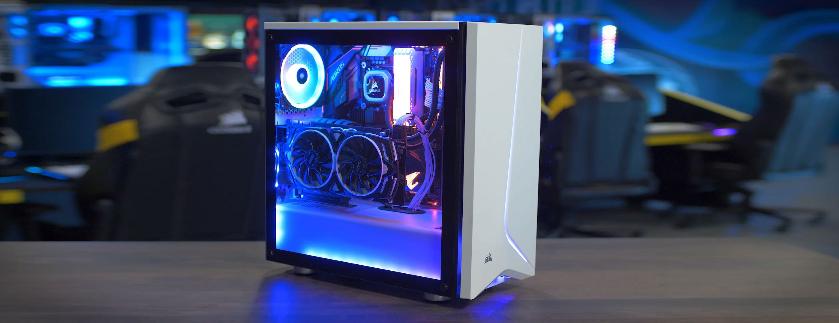 assemblare pc gaming build