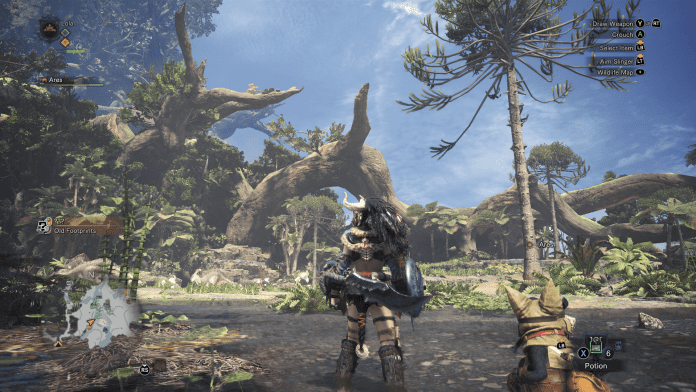 Monster Hunter World 1 696x392 - Monster Hunter World - Recensione Come Gira