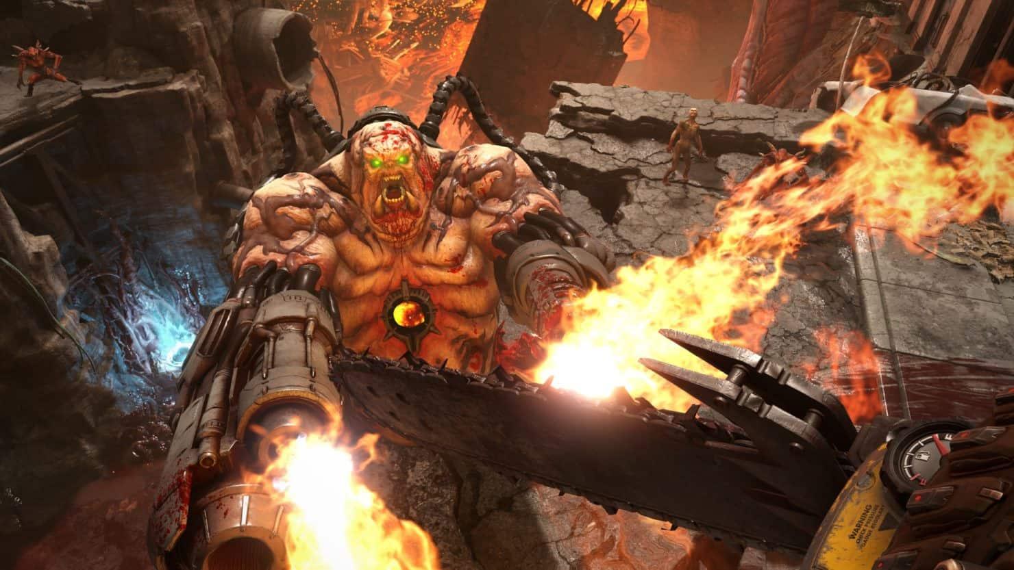 doom eternal 5 - DOOM Eternal - Primi dettagli, Immagini e gameplay