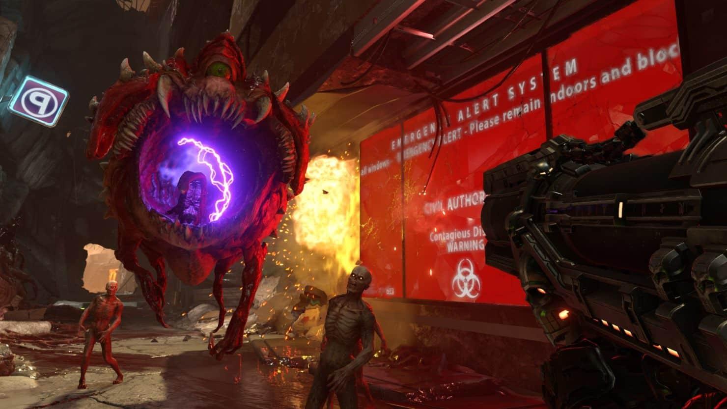 doom eternal 8 - DOOM Eternal - Primi dettagli, Immagini e gameplay