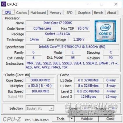 Intel Core i7 9700K 05 OC 424x424 - Intel Core i7-9700K - Prima recensione online