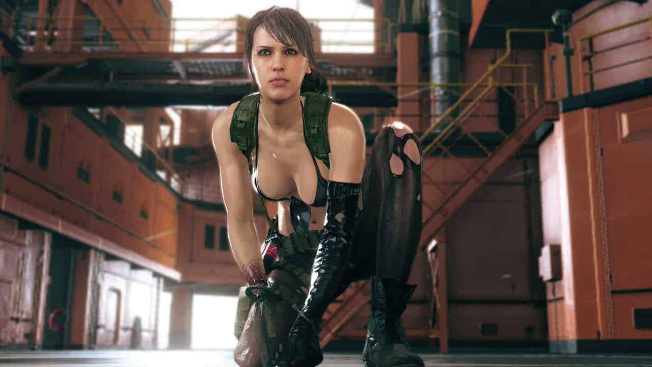 Metal Gear Solid V quiet nuda1 - Volete vedere Quiet di Metal Gear Solid V nuda? Ecco la mod che fa per voi