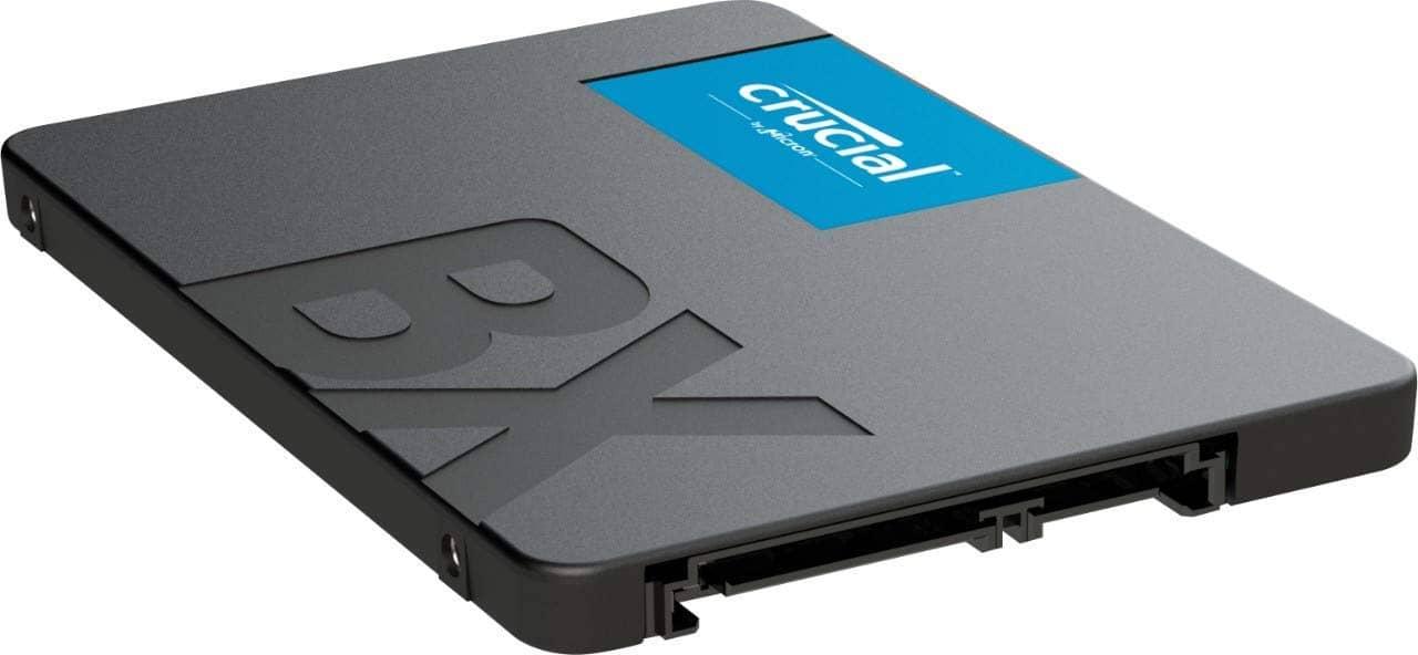 Crucial BX500 CT480BX500SSD1 SSD Interno 2.5 Pollici SATA 3D NAND 480 GB