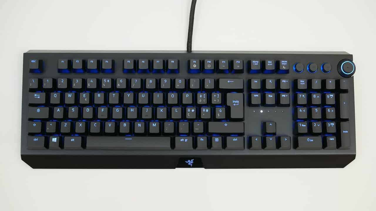 razer blackwidow ultimate recensione 4 - Razer BlackWidow Elite - Recensione