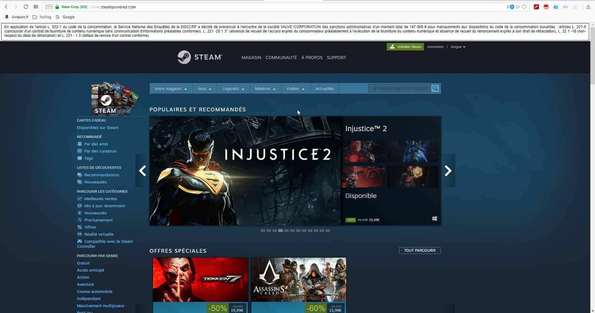 steam uplay multa - Valve e Ubisoft multate in Francia per scarsa trasparenza sui rimborsi