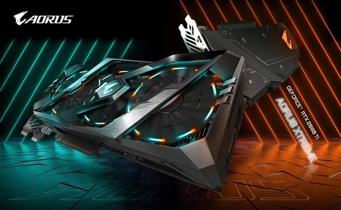 AORUS GeForce RTX 2080 - GIGABYTE rivela la serie di schede video AORUS GeForce RTX 20