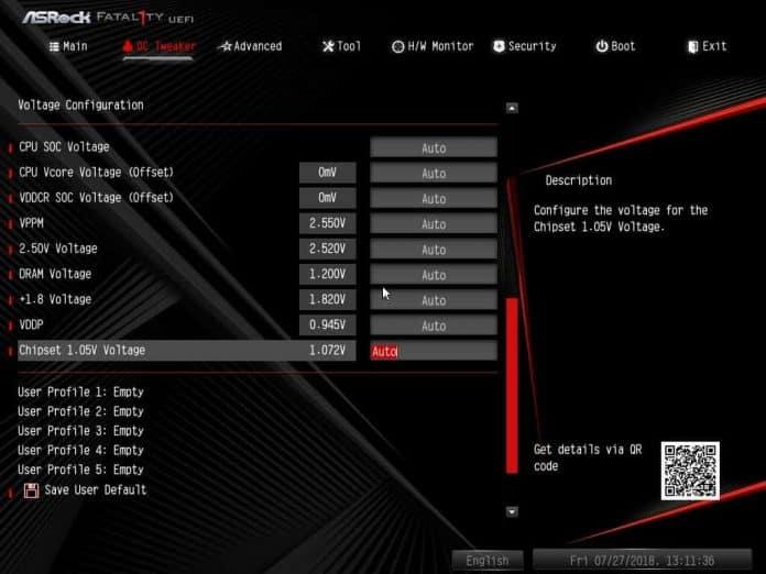 ASRock Fatal1ty B450 Gaming K4 BIOS 696x522 - ASRock Fatal1ty B450 Gaming K4 Recensione