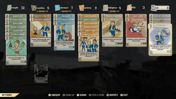 Fallout76 WhatsNew Perks 696x392 - Tutte le novità di Fallout 76