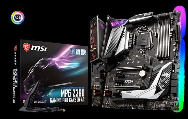 MPGZ390 Gaming Pro Carbon AC - MSI annuncia le nuove schede madri Z390