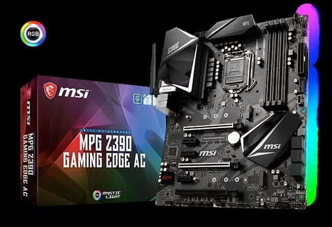 MPG Z390 Gaming Edge AC - MSI annuncia le nuove schede madri Z390