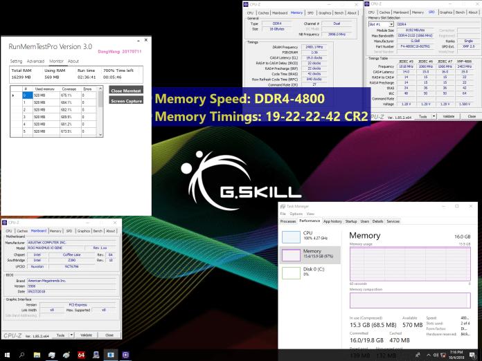 Trident Z RGB 4800 696x522 - Nuovi kit G.SKILL DDR4 4800 MHz e 4500 Mhz per schede madri Z390