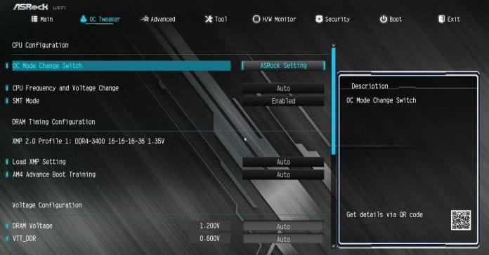 x470 master sli bios 696x364 - ASRock X470 Master SLI Recensione