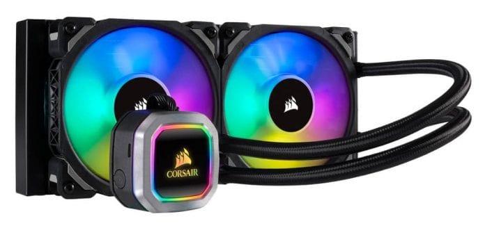 CORSAIR Hydro H100i RGB 696x328 - CORSAIR lancia i nuovi dissipatori AIO H100i e H115i RGB PLATINUM