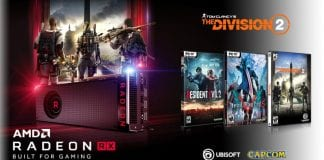 GPU AMD Radeon in bundle con Resident Evil 2, Devil May Cry 5 e The Division 2