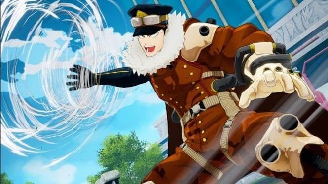 my hero 1142699 - INASA YOARASHI SI SCATENA IN BATTAGLIA IN MY HERO ONE'S JUSTICE
