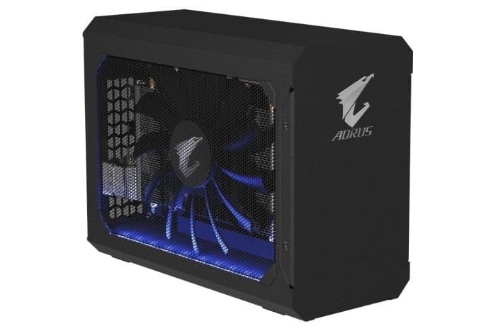 , GIGABYTE Rilascia AORUS RTX 2070 Gaming Box