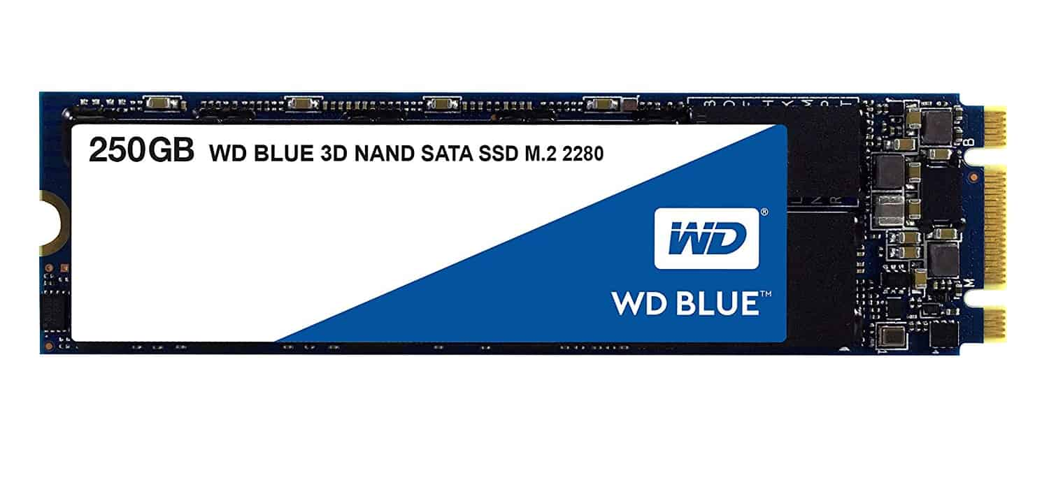 Western Digital SSD M.2 250 GB