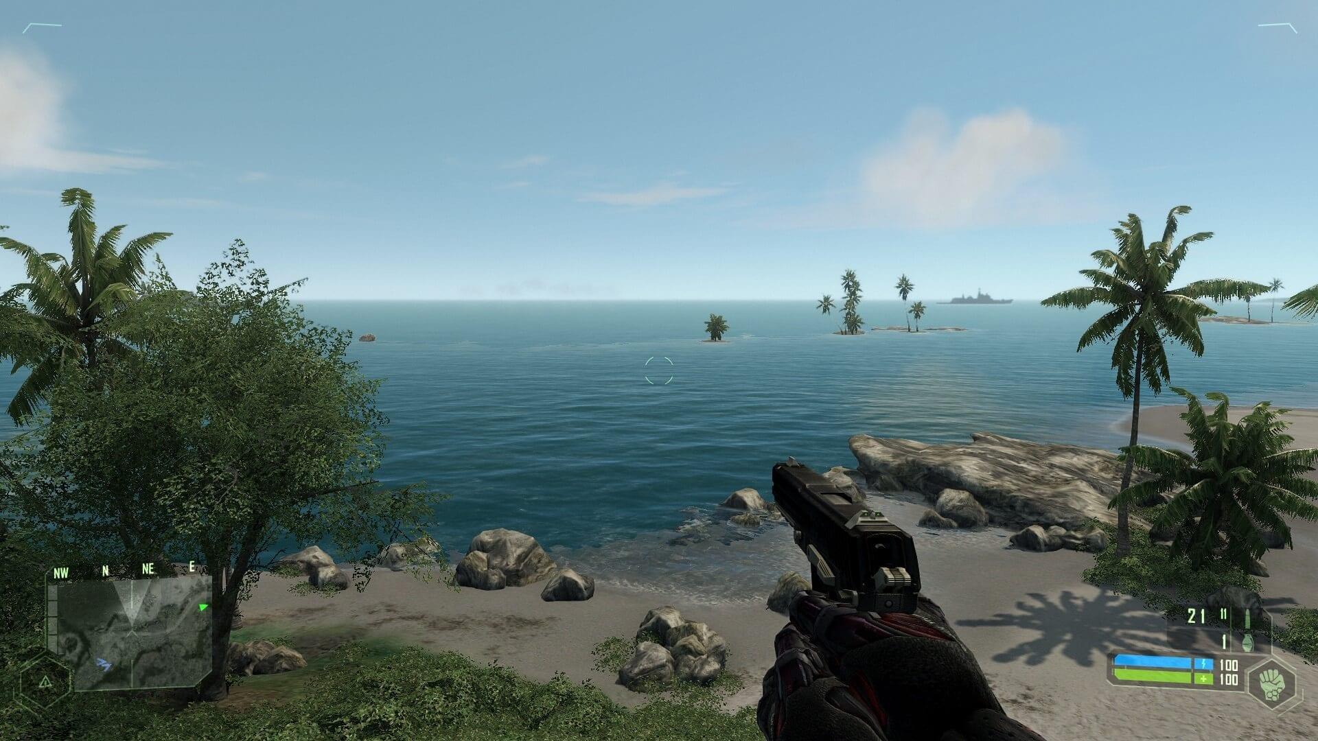 crysis, Ecco i primi deludenti screenshot di comparazione di Crysis originale e della sua remastered