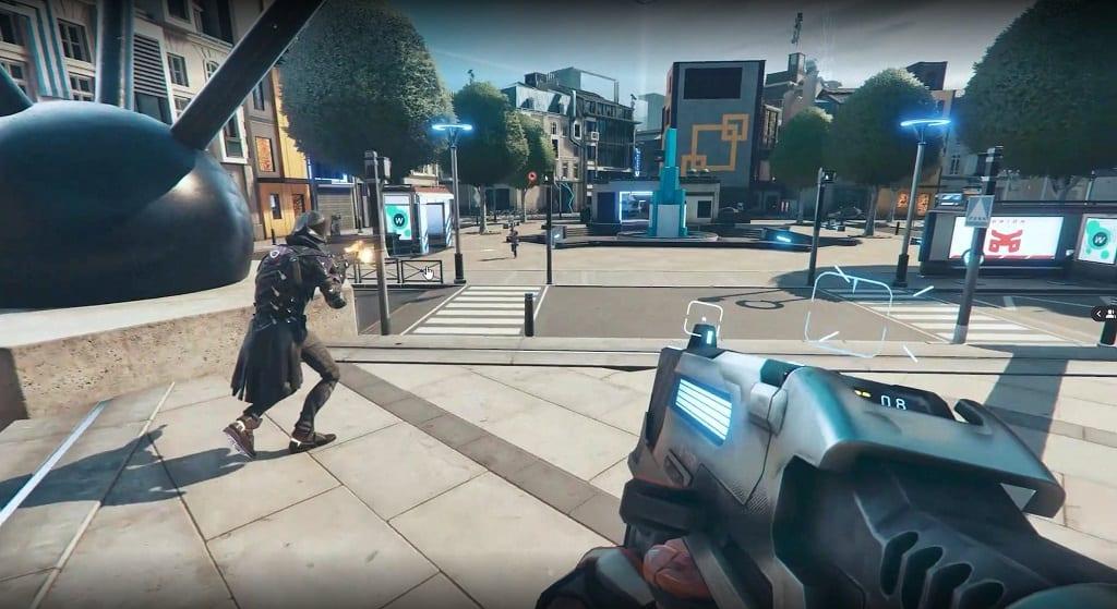 hyper scape, Hyper Scape è il battle royale Free to Play di Ubisoft, sarà presentato il 2 luglio